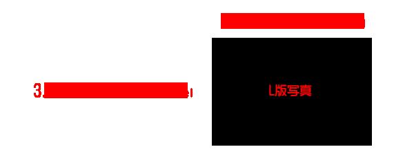 L版写真3.5×5inch